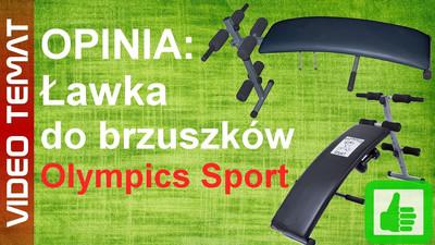 Ławka do brzuszków Olympics Sport – Opinia