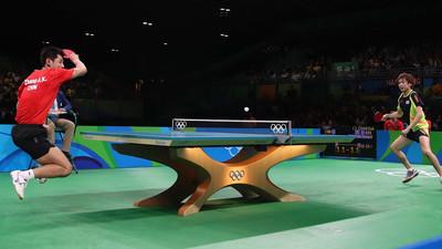 Jak ścinać piłki w tenisie stołowym