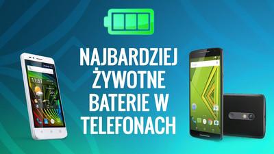 Smartfony z długim czasem pracy i działania na baterii