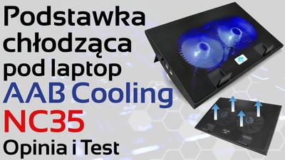 Podstawka chłodząca do laptopa AAB Cooling NC35 – Opinia i Test
