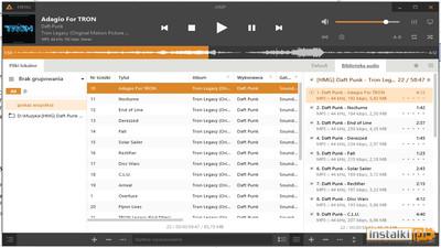 Najlepszy program do słuchania muzyki Aimp- Opinia