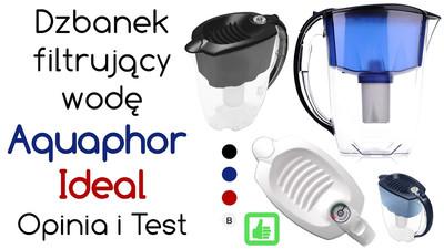 Dzbanek filtrujący wodę Aquaphor Ideal – Opinia i Test