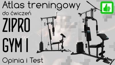 Atlas treningowy Zipro Gym I – Opinia i Test