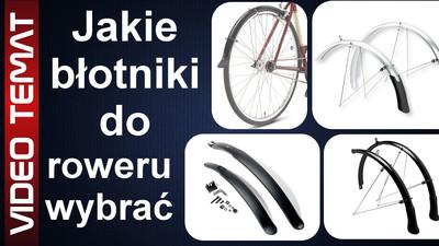 Jakie wybrać błotniki do roweru