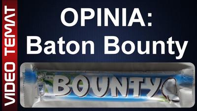 Baton kokosowy Bounty - Opinia