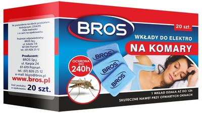 Sprej na komary i kleszcze Bros - Opinia