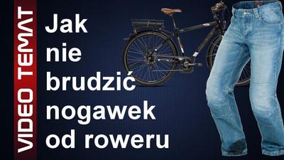 Jak chronić nogawki od zabrudzenia przez rower