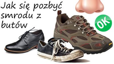 Sposoby jak się pozbyć zapachu smrodu z butów