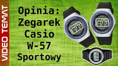 Zegarek sportowy Casio W-57 - Opinia