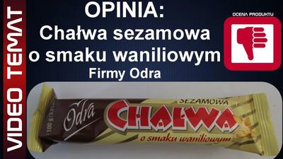 Chałwa sezamowa o smaku waniliowym od Odra - Opinia