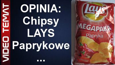 Chipsy Lays o smaku papryki – Opinia