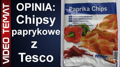 Chipsy o smaku paprykowym z Tesco - Opinia