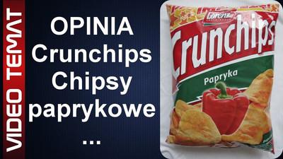 Chipsy Crunchips o smaku papryki - Opinia