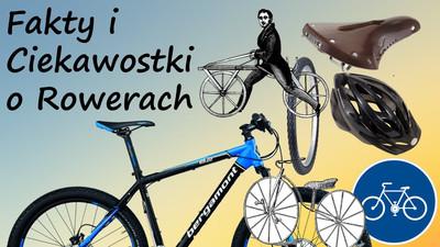 Ciekawostki i fakty o rowerach