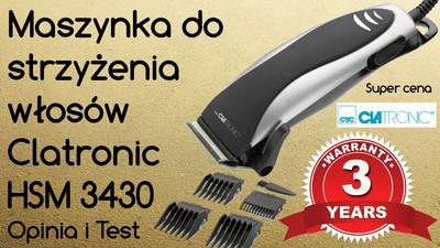 Maszynka do strzyżenia włosów Clatronic HSM 3430 – Opinia i Test