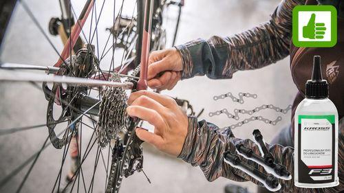 Co należy smarować i oliwić w rowerze
