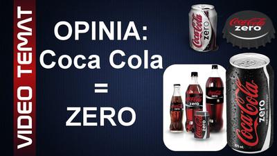 Napój Coca Cola Zero - Opinia