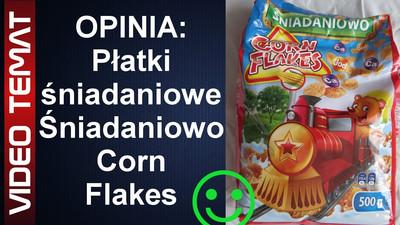 Płatki kukurydziane śniadaniowe Śniadaniowo Corn Flakes - Opinia
