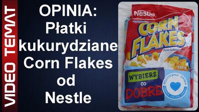 Płatki śniadaniowe kukurydziane Corn Flakes od Nestle - Opinia