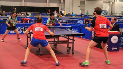 Zasady jak grać w debla w tenisie stołowym