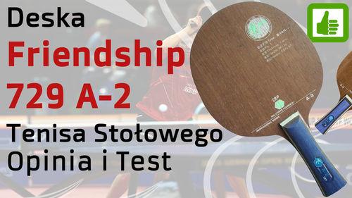 Deska 729 Friendship A-2 do tenisa stołowego – Opinia i Test