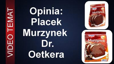 Ciasto Murzynek Dr. Oetker – Opinia