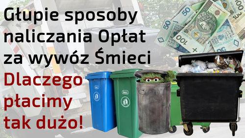 Nieuczciwe sposoby liczenia opłat za wywóz śmieci