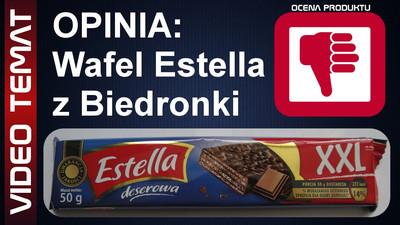 Wafel w czekoladzie Estella deserowa – Opinia