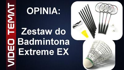 Zestaw do badmintona Extreme Ex - Opinia i Test