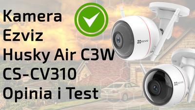 Kamera Ezviz Husky Air CS-CV310 C3W  – Opinia i Test