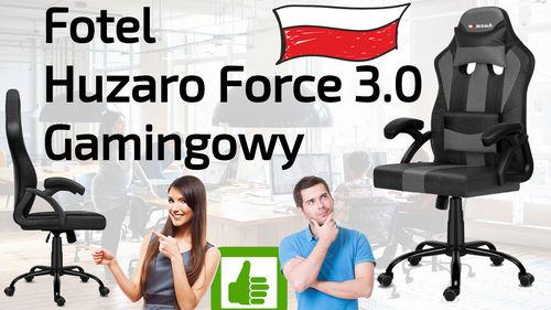 Fotel Huzaro Force 3.0 Gamingowy do komputera i biura – Opinia i Test