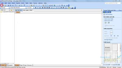 Program do budowy stron internetowych Microsoft Front Page - Opinia