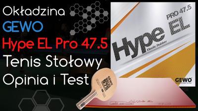 Okładzina Gewo Hype EL Pro do tenisa stołowego – Opinia i Test