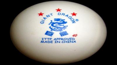 Piłki do tenisa stołowego Giant Dragon CUP - Opinia