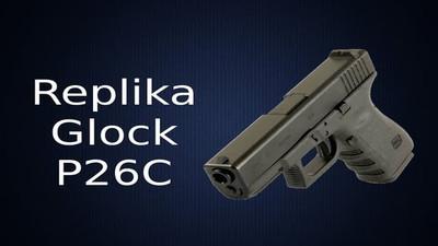 Replika pistolet pneumatyczny Glock P. 26 C – Opinia