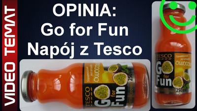 Napój Go For Fun owocowy z Tesco - Opinia