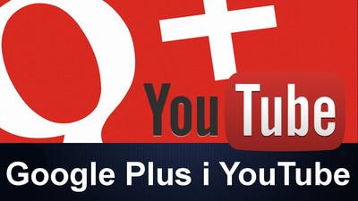 Powiązanie YouTube z Google plus +