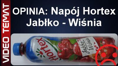 Napój Hortex o smaku jabłko i wiśnia - Opinia
