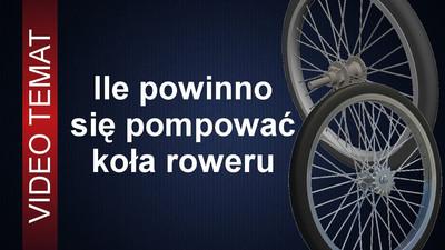 Jakie ciśnienie w kołach roweru jest najlepsze