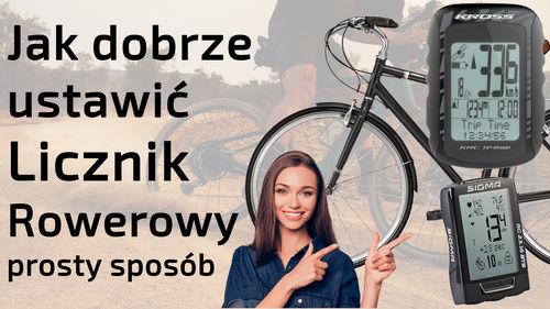 Jak dobrze ustawić licznik rowerowy – prosty sposób