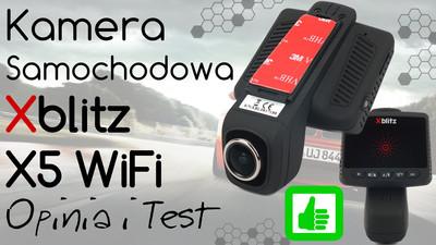 Kamera samochodowa Xblitz X5 WiFi – Opinia i Test