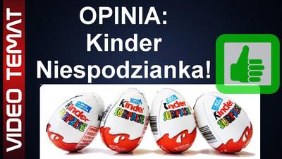 Jajko Kinder niespodzianka od Ferrero - Opinia