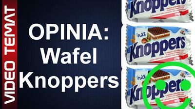 Knoppers wafelek mleczno orzechowy - Opinia