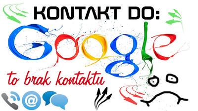 Kontakt do Google