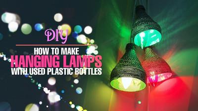 Jak zrobić lampę ozdobną z plastikowej butelki