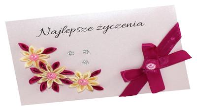 Jak zrobić kartkę urodzinową z kwiatem