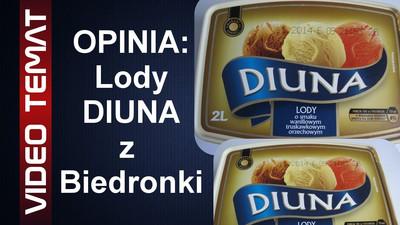 Lody Diuna z Biedronki - Opinia