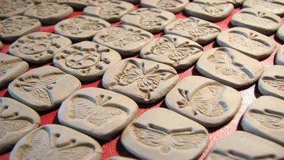 Jak malować masę solną i glinę