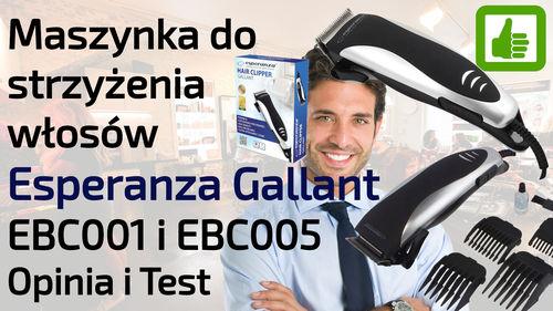 Maszynka do strzyżenia włosów Esperanza Gallant – Opinia i Test