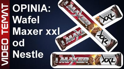Wafel Maxer XXL od Nestle - Opinia